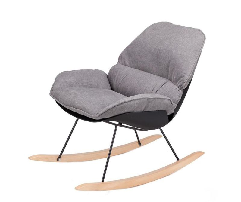 Houpací židle Vinyl Grey