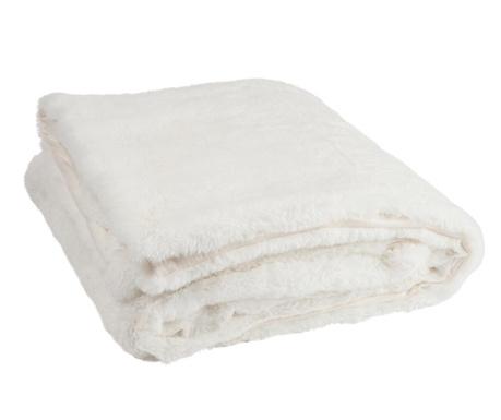 Pled Cutie White 130x180 cm