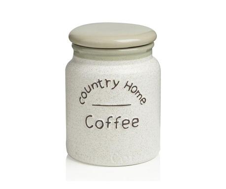 Country Home Tároló fedővel kávénak