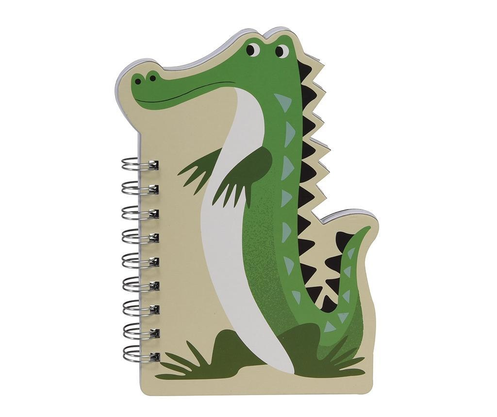 Carnetel cu spirala Harry the Crocodile