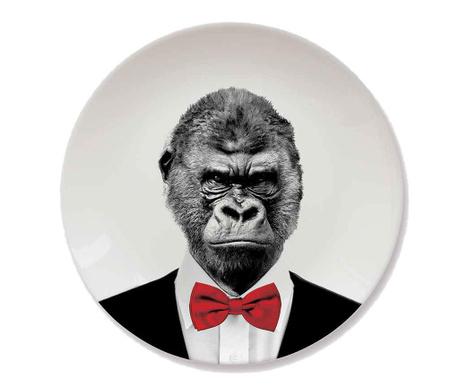 Mělký talíř Gorilla