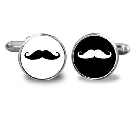Manžetové gombíky Moustaches