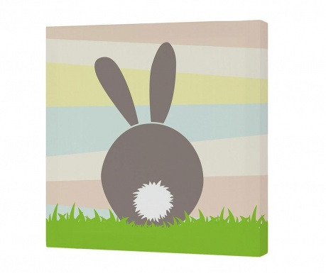 Slika Little Rabbits Tail 27x27 cm