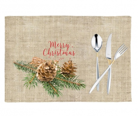 Set 2 individualuri Christmas Delight 33x45 cm