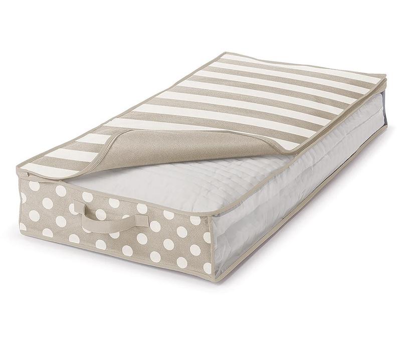 Zaščitna shranjevalna vreča Trend Dots Cream