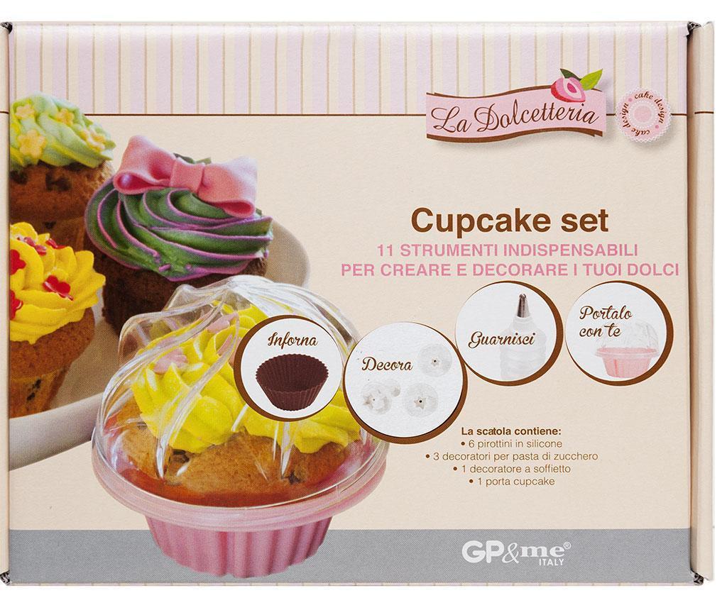 Sweet 11 darabos Muffin sütő szett