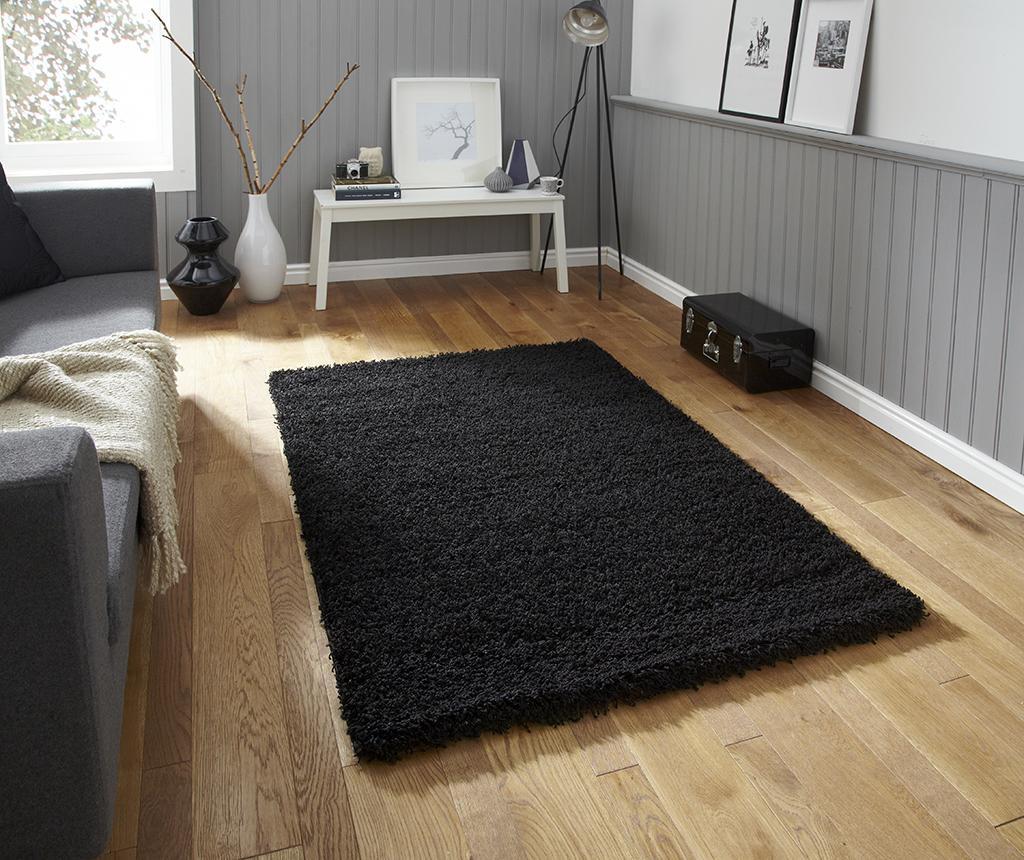 Vista Black Szőnyeg 80x150 cm