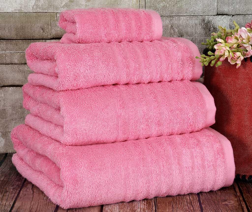 Prosop de baie Wellas Pink 30x50 cm