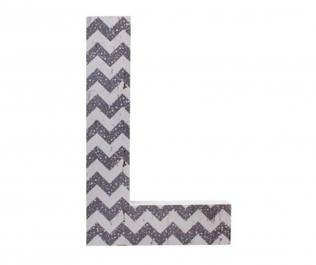 Nástenná dekorácia Letter L