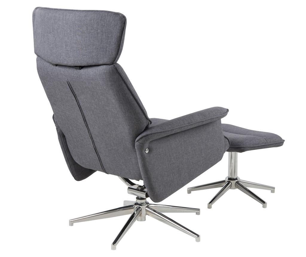Комплект фотьойл и табуретка за крака Recliner Alura