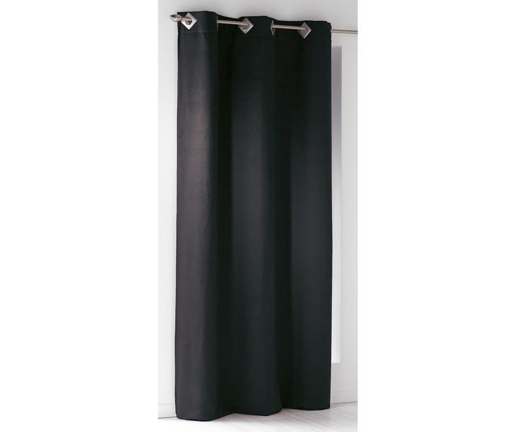 Zastor Suedine Black 140x240 cm