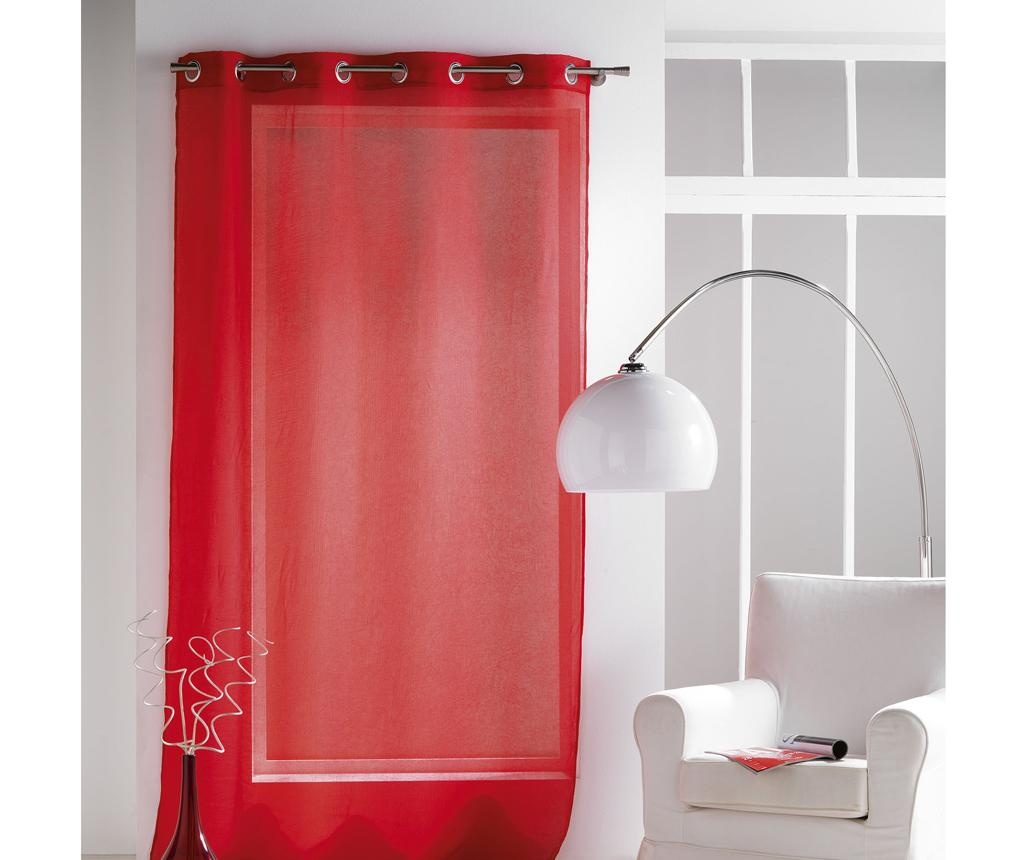 Perdea Paloma Red 140x240 cm
