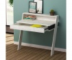Birou Cowork Antique White and Anthracite