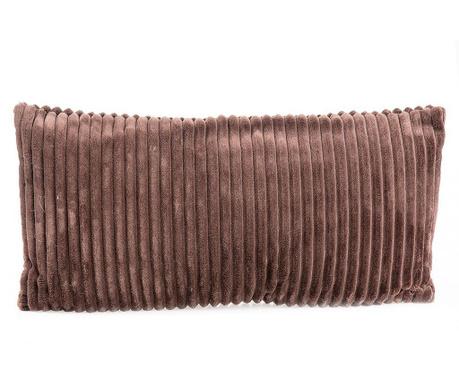Striped Brown Long Díszpárna 30x60 cm