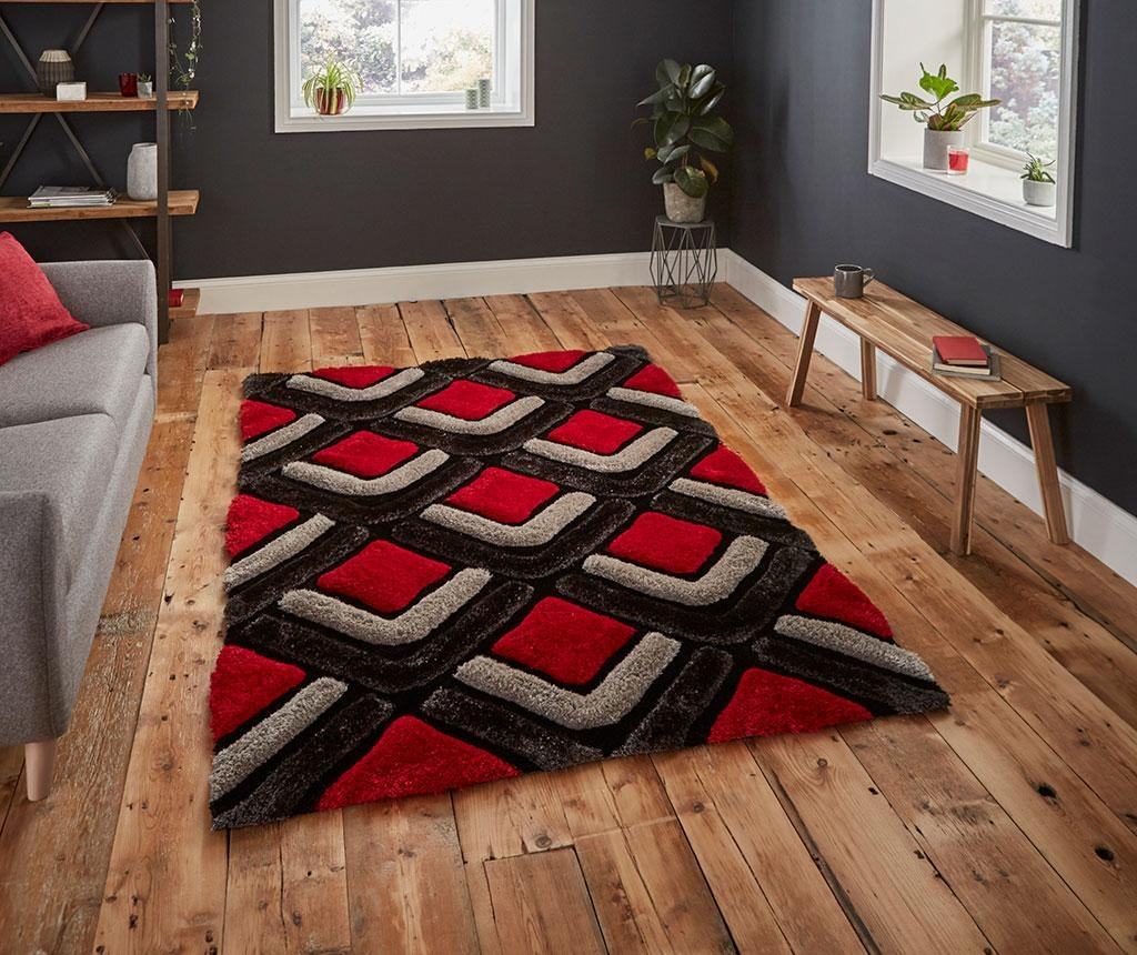 Tepih Noble House Black & Red 120x170 cm