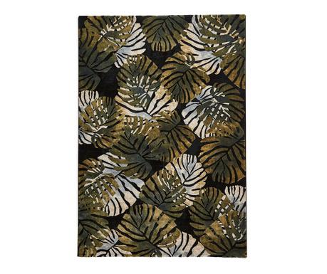 Covor Tropics Black & Green