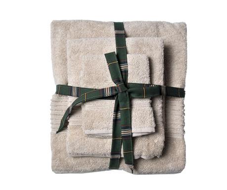 Комплект 3 кърпи за баня Downtown Flax