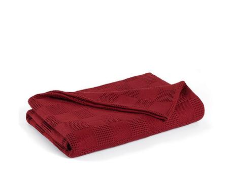 Prekrivač Pique Edinburgh Red Wine 220x230 cm