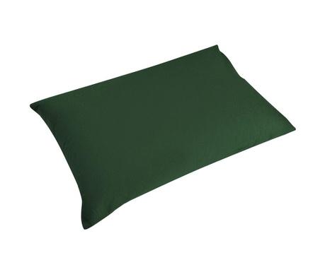 Комплект 2 калъфки за възглавница Percale Loryn Dark Green 50x70 см
