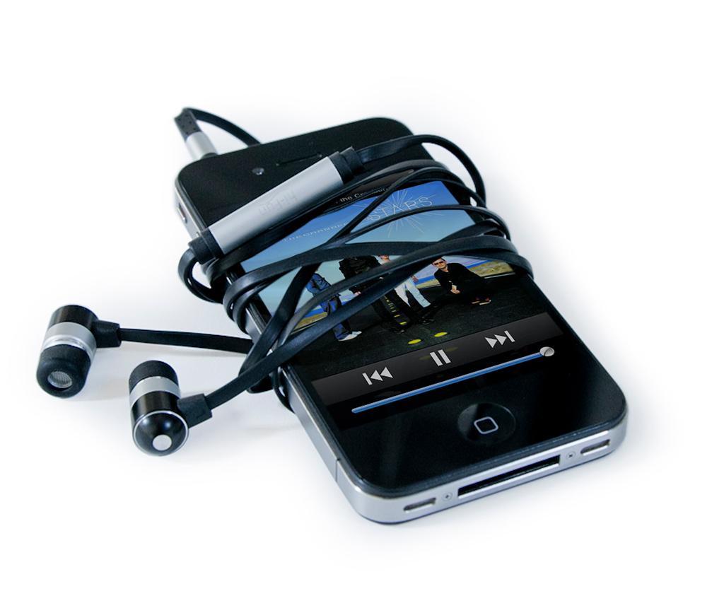 Slušalice hi-Flat Silver