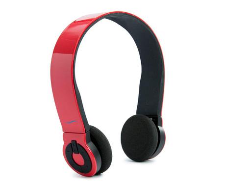 hi-Edo Glossy Red Vezeték nélküli fejhallgató