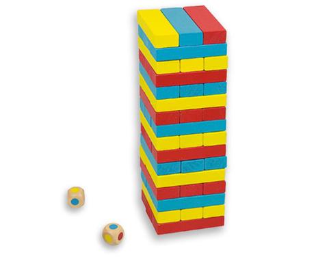 Set de construit 48 piese Colors Tower