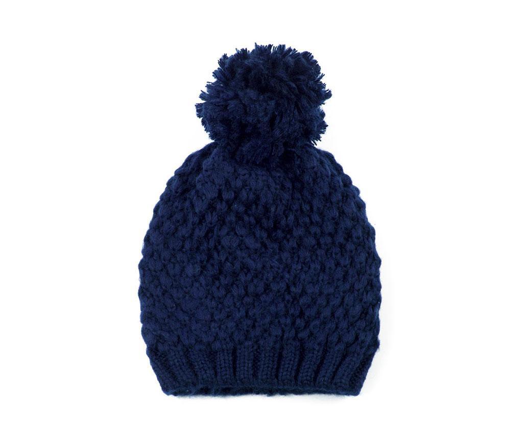 Ženska zimska kapa Top Navy 56-60 cm