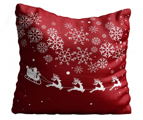 Perna decorativa Christmas Ride 43x43 cm