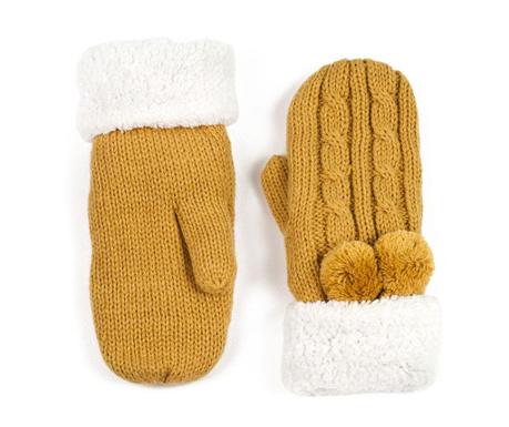 Rękawiczki damskie Zaffer Yellow