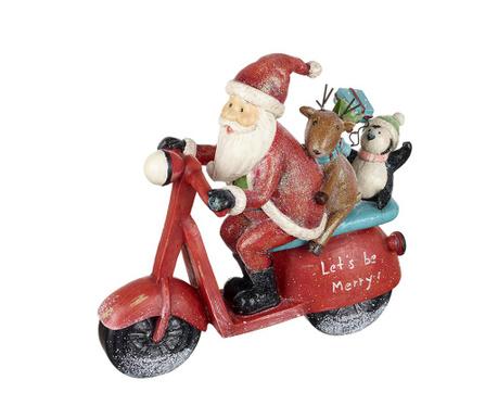 Decoratiune Santa's Scooter