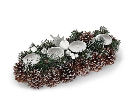 Snowy Cones Adventi koszorú