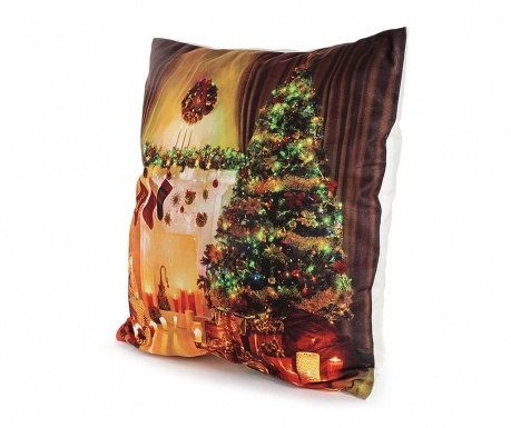 Set 2 fete de perna cu LED-uri Christmas Tree 40x40 cm