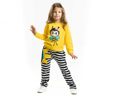 Set bluza si pantaloni Bee Happy Velvet