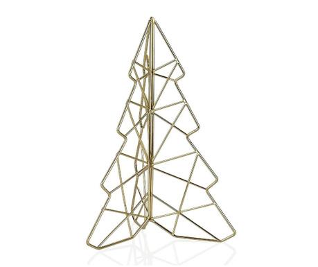 Gold Christmas Tree Dísztárgy M