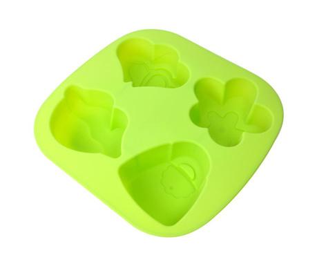 Green Cake Sütőforma 4 formával