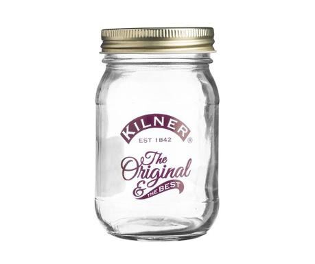 Original Befőttesüveg fedővel 400 ml