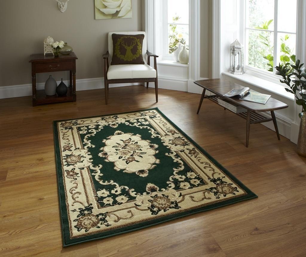 Covor Marrakesh Dark Green 80x150 cm
