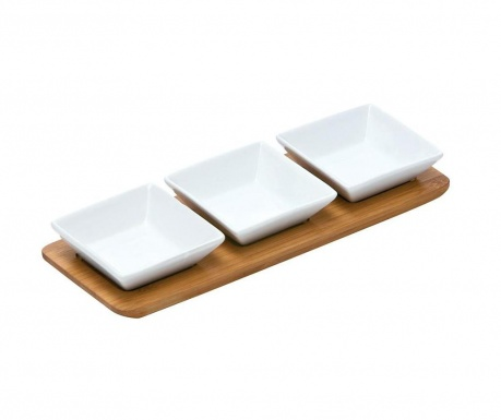 Комплект за аперитиви 4 части Snack Square