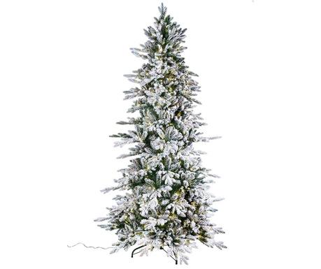 Sorapis Snow Műfenyő LED-del 210 cm