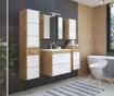 Corp suspendabil cu oglinda Ibiza Wood