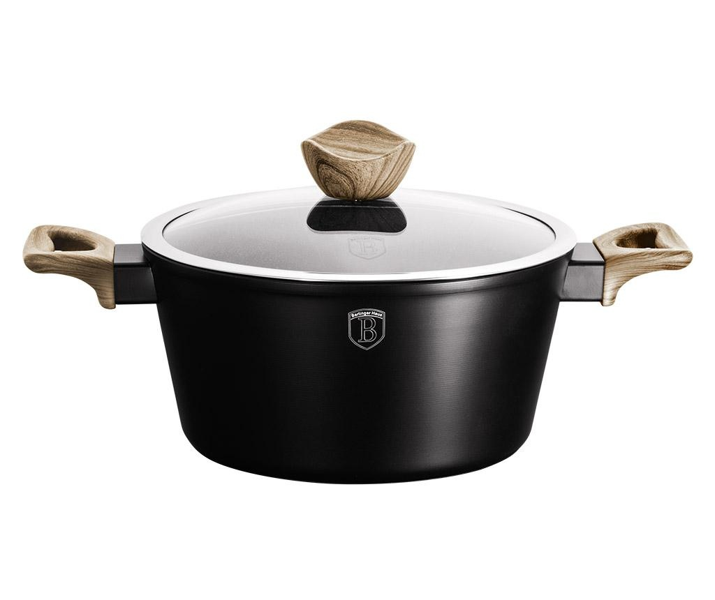 Posuda za kuhanje s poklopcem Ebony Maple 4.1 L