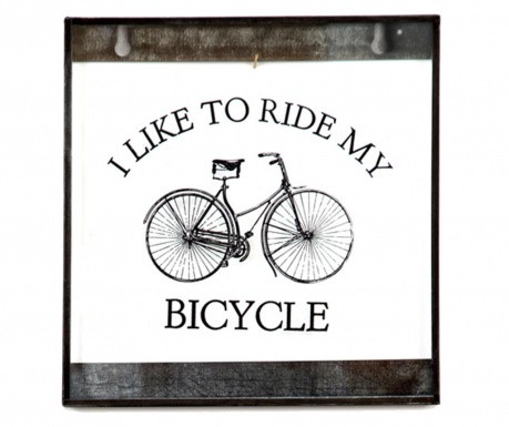 Decoratiune de perete Bike Around