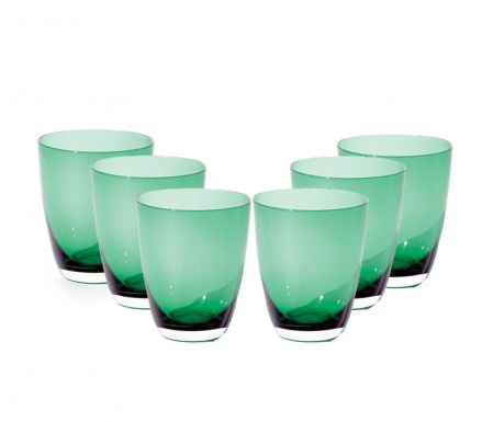 Set 6 pahare Thea Green 370 ml