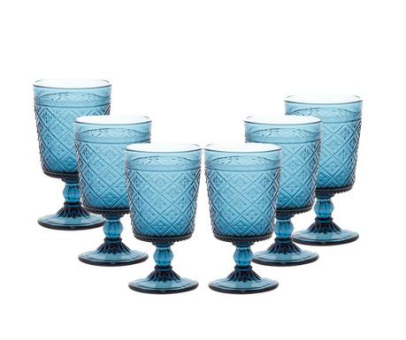 Gloria Blue 6 db Talpas pohár 270 ml