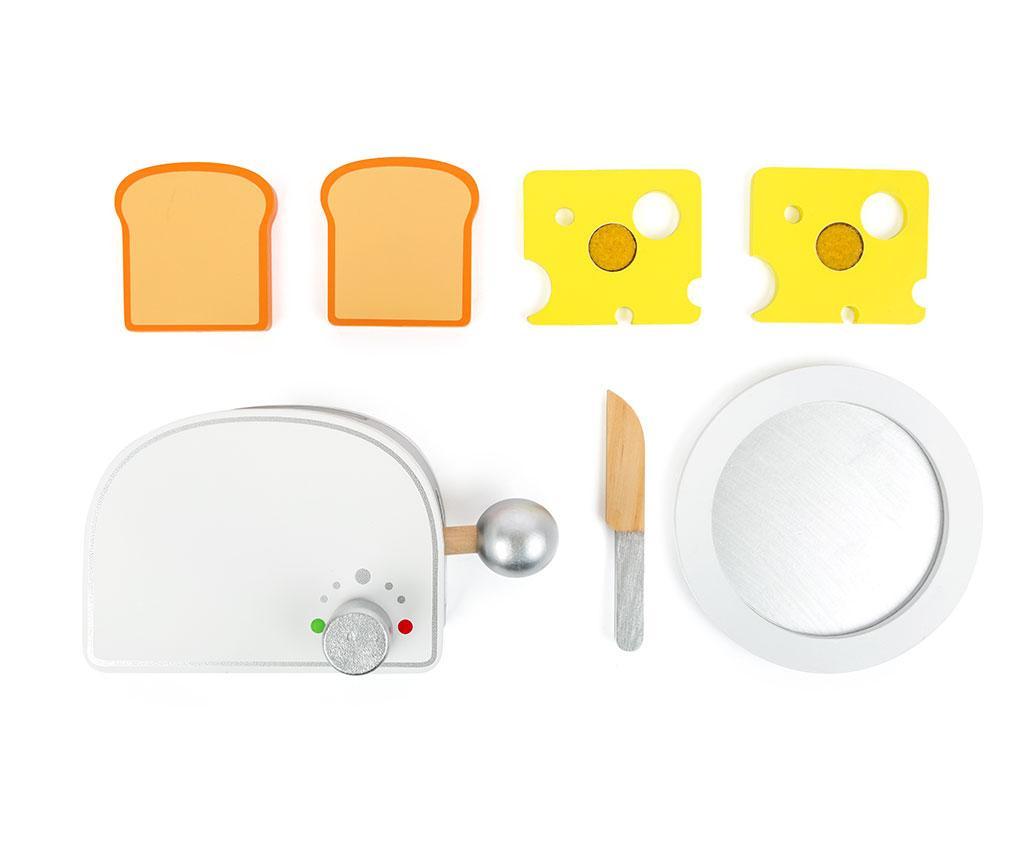 Set toaster de jucarie si accesorii Kial