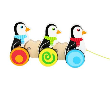 Zabawka do ciągnięcia Penguins