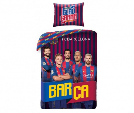Set de pat Single Ranforce Barca