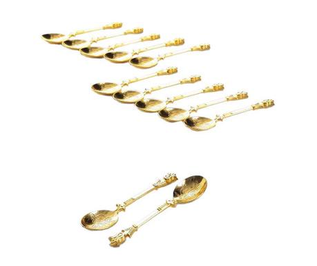 Комплект 12 лъжички Naim Gold