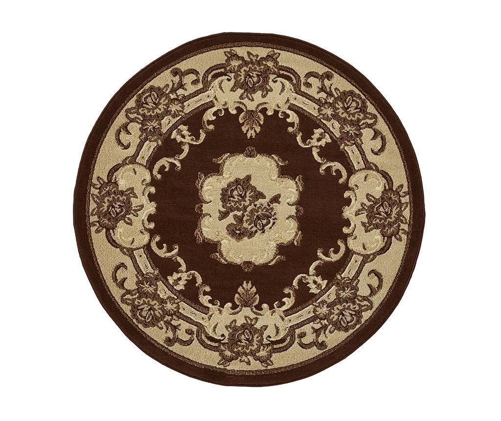 Covor Marrakesh Brown Circle 140 cm