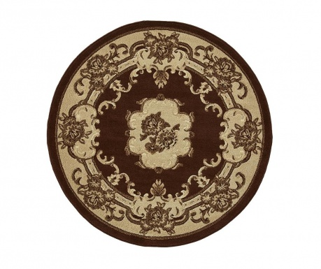 Koberec Marrakesh Brown Circle 140 cm